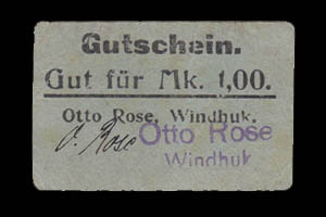 DSWA-Gutschein-Otto Rose 1Mark